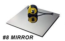 NO.8 mirror stainless steel