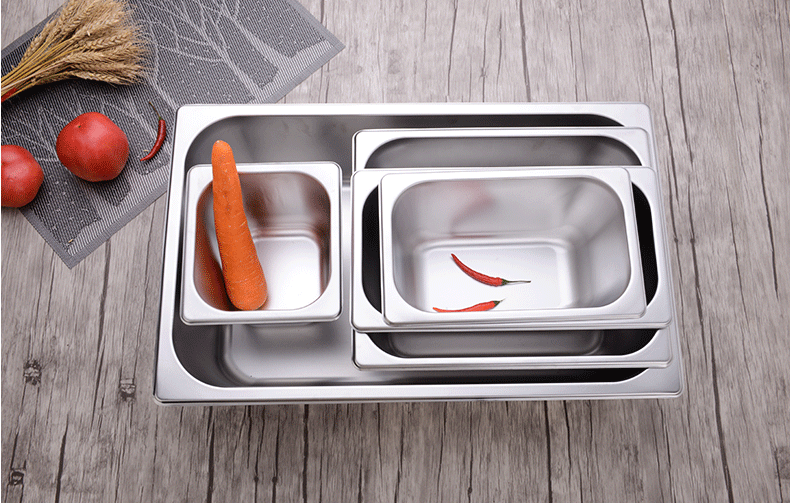 stainless steel GN pan Gastronorm container